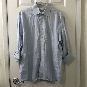 men's Michael Kors button down dress shirt